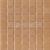Mozaika sklenená  0-ŠKORICA jednofarebná 20x20mm - 32,7x32,7cm