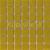Mozaika sklenená  0-HORČICA jednofarebná 20x20mm - 32,7x32,7cm