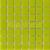 Mozaika sklenená  0-NARCIS jednofarebná 20x20mm - 32,7x32,7cm