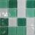 Mozaika kryštálová K-APRIL viacfarebná  25x25mm