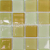Mozaika kryštálová K-MARTHA viacfarebná  25x25mm