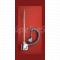 P.M.H. HT2 - elektrická vykurovacia tyč s termostatom, 300 W, chróm