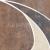 Cersanit STEEL brown naroznik 11x11, roh, WD237-009