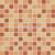 Rako ALLEGRO GDM02044 mozaika 2,3x2,3 oranžová 30x30x0,6cm, 1.tr.