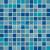 Rako ALLEGRO GDM02045 mozaika 2,3x2,3 modrá 30x30x0,6cm, 1.tr.