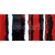 Rako MATERIA DDTSA001 inzerto červená 29,8x59,8x1,1cm, 1.tr.