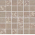 Rako TEXTILE mozaika set 30x30 cm 5x5cm hnedá mix WDM05103, 1.tr.
