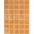 Rako PATINA obklad 25x33, tehlová-matná, WARKB231, 1.tr.