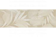 Pamesa DEC. FOGLI MARFIL obklad dekor 20x60 lesklý