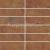 Rako SIENA dlažba-mozaika 45x45, červenohnedá-matná, DDP44665, 1.tr.