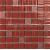 APE MOSAICO FUNNY BURDEOS 20X20 lesklý obklad 8mm mozaika