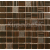 APE MOSAICO FUNNY CHOCO 20X20 lesklý obklad 8mm mozaika