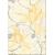 Cersanit ARTIGA YELLOW INSERTO FLOWER 25X35, obklad-dekor OD032-015,1.tr.