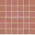 Rako ROCK mozaika - set 30 x 30 cm, červená, DDM06645, 1.tr.