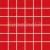 Rako AIR mozaika set 30 x 30 cm, červená, WDM06041, 1.tr.
