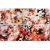 Rako AIR dekor 20 x 60 cm,  červeno-oranžová, WITVE004, 1.tr.