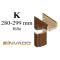 INVADO obložková nastaviteľná zárubňa pre dvojkrídlové dvere, pre hrúbku steny 75 - 94 mm