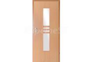 INVADO interiérové dvere NIDA 2 presklené, fólia Buk