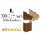INVADO obložková nastaviteľná zárubňa, pre hrúbku steny 300 - 319 mm, fólia Enduro