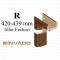 INVADO obložková nastaviteľná zárubňa, pre hrúbku steny 420 - 439 mm, fólia Enduro