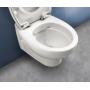 HATRIA ERIKA PRO závesné WC PURE RIM 37 x 53 cm