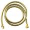 Sapho Kovová sprchová hadica, opletená, 175 cm, zlato