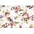 Rako Majolika WITVE008 set(2kusy) obklad dekor 20x60cm viacfarebná lesklá, 1.tr.
