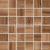 Rako PIANO mozaika set 30x30 cm 5x5cm, hnedá, WDM06517, 1.tr.