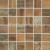 Rako RUSH mozaika set 30x30 cm 5x5cm, měděná, WDM06519, 1.tr.