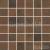 Rako RUSH mozaika set 30x30 cm 5x5cm, tmavá hnedá, WDM06520, 1.tr.