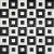 Ceramstic MOZAIKA KERAMICKÁ Flash Black & White MC-04 obklad dekor 30x30