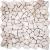 Ceramstic MOZAIKA KAMENNÁ Geo White MK-002 dlažba dekor 30x30, mrazuvzdorná