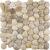 Ceramstic MOZAIKA RIEČNY KAMEŇ WHITE dlažba dekor 30x30, mrazuvzdorná