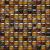 Ceramstic MOZAIKOVÉ SKLO Hard Candy Brown MS-01 obklad dekor 30x30