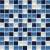 Ceramstic MOZAIKOVÉ SKLO Hard Candy Blue MS-08 obklad dekor 30x30