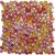 Ceramstic MOZAIKOVÉ SKLO Drops Brown MS-06 obklad dekor 30x30