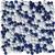 Ceramstic MOZAIKOVÉ SKLO Drops Blue MS-07 obklad dekor 30x30