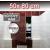 ZAVRZ Revízne dvierka š x v 50x80 cm s PUSH systémom, Kovový rám, ĽAVÉ