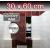 ZAVRZ Revízne dvierka š x v 30x60 cm s PUSH systémom, Kovový rám
