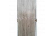INVADO SET dvere TAURUS plné, 60 Ľavé, fólia Dub Naturo B587+zárubeň A+Romana BB zámok