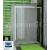SanSwiss Top-Line TOPS4 Posuvné dvere do niky s 2 pevn.st. 1600x1900 Aluchróm/Mastercarré