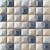 Tubadzin ELEMENTARY Blue 31,4x31,4 obklad-mozaika polomatná