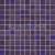 Tubadzin WAVE Violet 30x30 obklad-mozaika lesklá