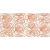 Tubadzin WAVE Modern Orange 22,3x44,8 obklad-dekor lesklý