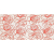 Tubadzin WAVE Modern Red 22,3x44,8 obklad-dekor lesklý