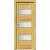 INVADO SET Rámové dvere SIENA 3 presklené laminátové, farba Dub európsky +zárubeň +kľučka