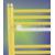 Madlo k rebríkovému radiátoru rovnému, BN 600, biele