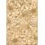 Cersanit FLORES dekor CREAM INSERTO GOLD 25X35