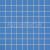 Tubadzin PASTEL Blue obklad mozaika 30,1x30,1 matná