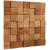Stegu CUBE 1 drevený obklad